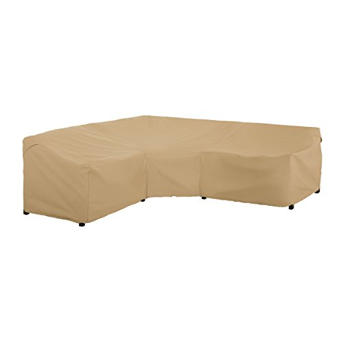 Classic Accessories 56-051-012001-EC Terrazzo Sectional Sofa Cover, V-Shaped