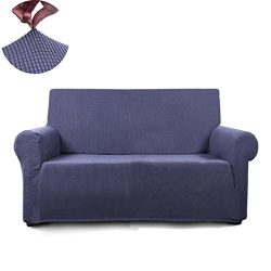 Tastelife Slipcover 1-Piece Thickened stretch fabric Furniture Protector Cover for sofa loveseat ...