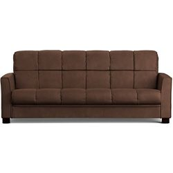 Baja Convert-a-couch Sofa Sleeper Bed Sofa Converts Into a Full-size Bed and Seats 3 Comfortably ...