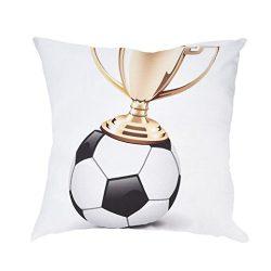 Decorative Pillows,2018 Home Decor World Cup Football Soccer Print Pillow Cases Sofa Car Cushion ...