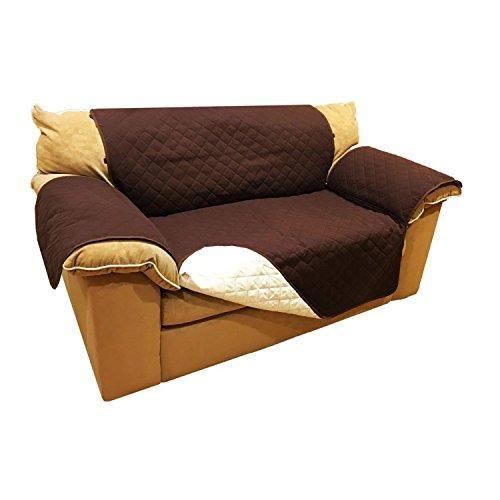 Aleko Psc02br Pet Furniture Slipcover Spill Scratch Pet