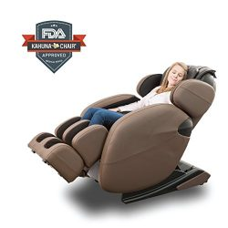Kahuna Massage Chair Space-Saving Zero-Gravity Full-Body Recliner LM6800 with yoga & heating ...