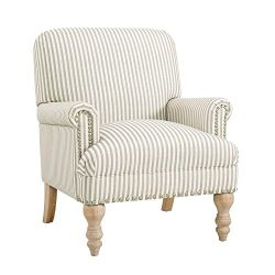 Dorel Living Jaya Accent Chair, Beige