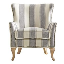 Dorel Living DA7903-GR Reva Accent Chair, Gray