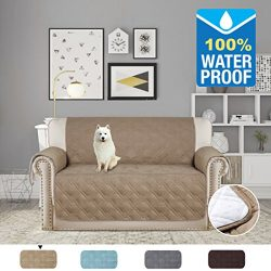 H.VERSAILTEX Pet Friendly Premium Furniture Protector with Silicon Rubber Printing(100% Waterpro ...