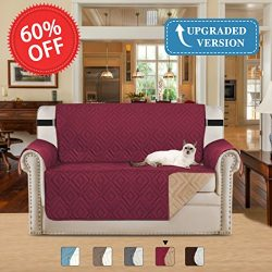H.VERSAILTEX Updated Version Sofa Covers for Pets, Water-repellent Slipcovers for Couches and Lo ...