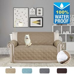 H.VERSAILTEX 100% Waterproof Non-slip Anti Stained Furniture Protector Microfiber Soft Protector ...