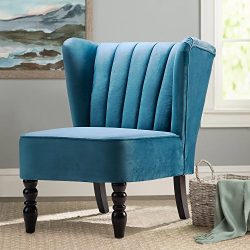 Harper&Bright Design Accent Chair Armless Chair Leisure Chair Living Room Furniture Chair So ...