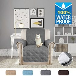 H.VERSAILTEX Pet Friendly Quilted Furniture Protector 100% Prevent Water Microfiber Soft and Lux ...