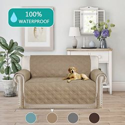 Pet Friendly Sofa Slipcover Waterproof for Couch Features to Prevent Stains/Protect from Pets, S ...