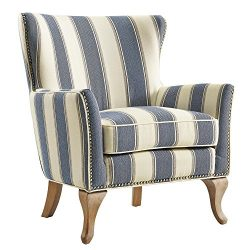 Dorel Living Reva Accent Chair, Blue