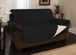 Furniture Fresh New and Improved Anti-Slip Grip Furniture Protector, Loveseat Cover, Slipcover,  ...