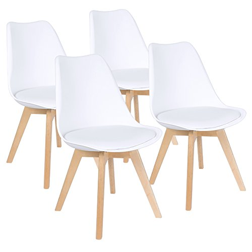 Modern Contemporary Urban Design Kitchen Dining Side Chair: Furmax Mid Century Modern DSW Dining Chair Upholstered