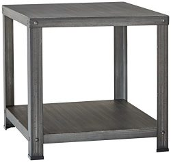 Ashley Furniture Signature Design – Hattney – Vintage Casual Square End Table – ...