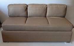 Patrick Industries RV 72″ Jack Knife Sleeper Sofa Bed Couch (Tan)