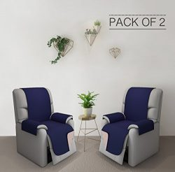 RHF Reversible Oversized Recliner Cover&Oversized Recliner Chair Covers,Slipcovers for recli ...