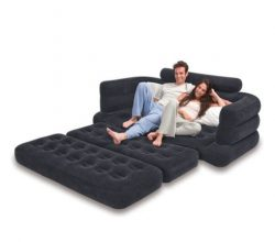 Sporting Goods-Camping Mattress-Premium Inflatable Pull-Out Sofa & Queen Bed Mattress Sleepe ...