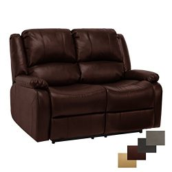 RecPro Charles Collection | 58″ Double Recliner RV Sofa | RV Zero Wall Loveseat | Wall Hug ...