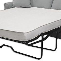 Select Luxury OVS04REV-03 Reversible 4-inch, 1.5 Pound Full-size Foam Sofa Sleeper Mattress, Dus ...