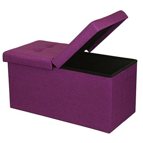 Otto Amp Ben 30 Quot Storage Ottoman Folding Toy Box Chest