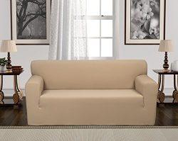 Anti-Slip Jacquard 1-Piece Spandex Stretch Elastic Pet Dog Sofa Couch Cover Slipcover Non-Slip A ...
