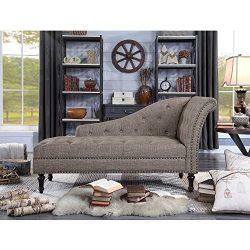 Rosevera D8-2 Deedee Chaise Lounge, Brown