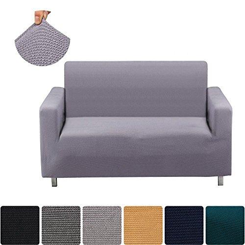 Light Grey Sofa Slipcover: Homaxy Jacquard Stretch Sofa Slipcovers, Vintage Thick