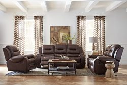 Cambridge Clark Three Piece set: Sofa, Loveseat, Recliner Living Room Furniture Sets