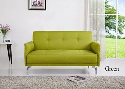 Container Furniture Direct Emma Collection Modern Fabric Upholstered 2 Person Living Room Lovese ...