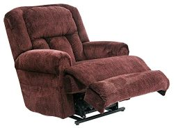 Catnapper Burns 4847 Power Lift Chair & Recliner – Vino with White Glove Delivery