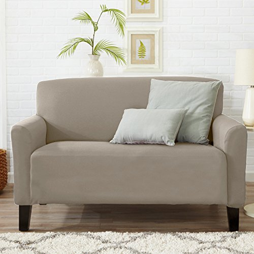 Home Fashion Designs Form Fit, Slip Resistant, Stylish Furniture Cover/Protector Featuring Light ...