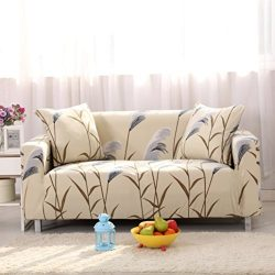 Lamberia Printed Sofa Cover Stretch Couch Cover Sofa Slipcovers for Couches and Loveseats with O ...