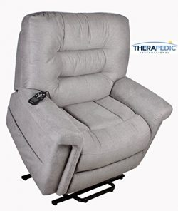Power Lift Chair Recliner by Therapedic – Wall Hugger, Big Chair, Heat & Massage, Cooling Ge ...