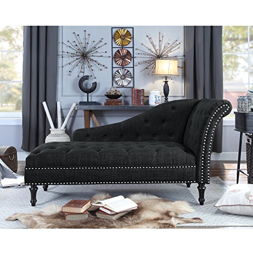 Rosevera D8 7 Deedee Chaise Lounge Charcoal Gvdesigns