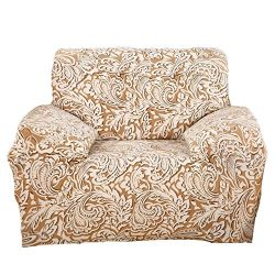 ColorBird Spandex Fabric Sofa Slipcovers Paisley Pattern Removable Stretch Elastic Couch Protect ...