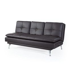 Westport Home RA-MKZS3B2001-P Marie Convertible Sofa