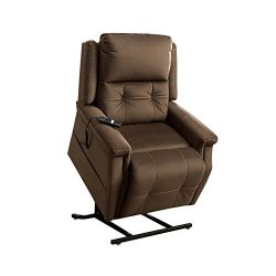 Pulaski A281-016-354 Two Motor Heavy Duty Lift Chair in Fling Coffee