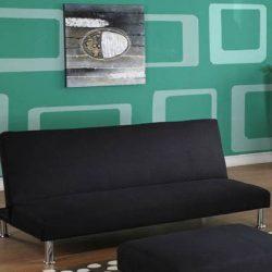 InRoom Designs Klik-Klak Convertible Sofa – with Metal Frame