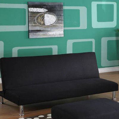 Inroom Designs Klik Klak Convertible Sofa With Metal