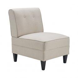 Serta UPH10023A Copenhagen Slipper, Accent Chair, Cream