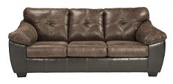 Signature Design by Ashley 9160339 Gregale Sofa Sleeper, Queen, Coffee