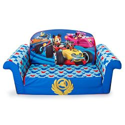 Marshmallow Furniture – Children's 2 in 1 Flip Open Foam Sofa, Disney Mickey Mouse R ...