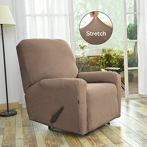 Sofa King Easy: Easy-Going Stretch Recliner Slipcovers,Sofa Covers,4Pieces