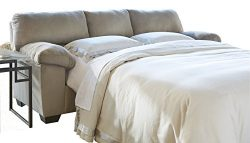 Ashley Furniture Signature Design – Dailey Contemporary Full Sofa Sleeper with Mattress &# ...