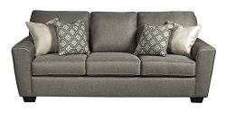 Benchcraft – Calicho Contemporary Sofa Sleeper – Queen Size Mattress Included &#8211 ...
