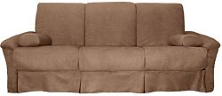 Tango Perfect Sit & Sleep Pocketed Coil Inner Spring Pillow Top Sofa Sleeper Bed, Full-size ...