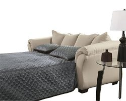 Ashley Furniture Signature Design – Darcy Sleeper Sofa – Full Size – Ultra Sof ...