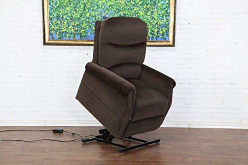 Classic Plush Power Lift Recliner Living Room Chair