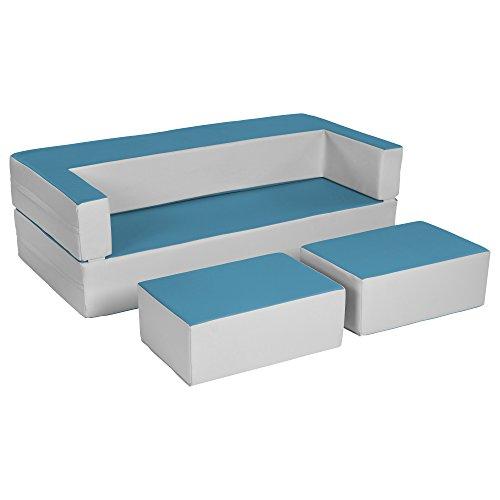 Ecr4kids Softzone Flip Flop Couch Convertible Foam