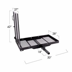 Wheelchair Power Electric Medical Mobility Scooter Carrier Rack with Ramp